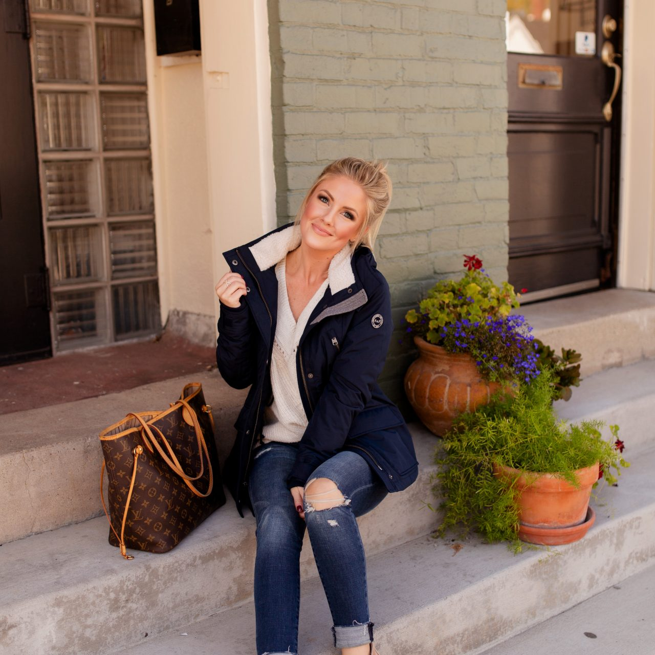Fall Outerwear with A&F